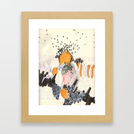 Saint of the Mountains (continuation)  Framed Art Print