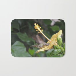 Hibiscus and Visitor Bath Mat