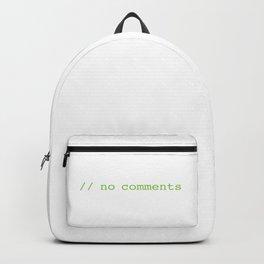 No commenst Backpack
