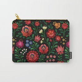 Hungarian flowers Carry-All Pouch