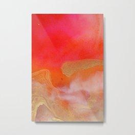 Flame Metal Print