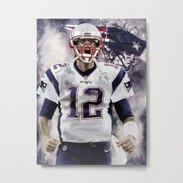 Brady Metal Print