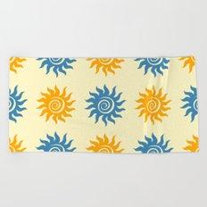 Summer print Beach Towel