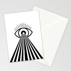 Laser Eye Stationery Cards