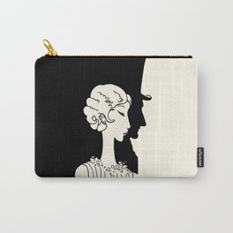 Deco Couple Carry-All Pouch