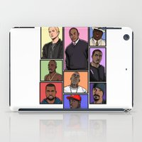 hiphop iPad Cases featuring HipHop Legends by Akyanyme