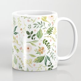 Botanical Spring Flowers Coffee Mug