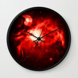 Orion NeBULA : Red Wall Clock