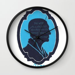 Doctor Who / Christopher Eccleston.   Wall Clock