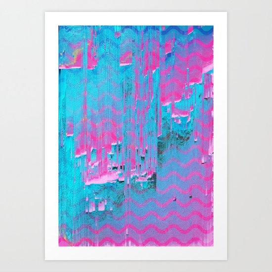 Do the Wave Art Print