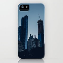 Skyline View from Central Park in New York City iPhone Case