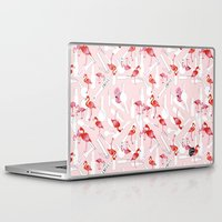 bdsm Laptop & iPad Skins featuring A BDSM Valentine by KlaraBowPiechocki