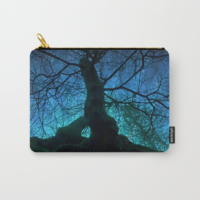 Tree under a spangled sky (light) Carry-All Pouch