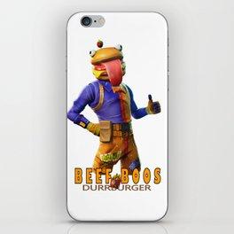Beef Boos iPhone Skin