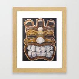 Big Cheezin' Framed Art Print