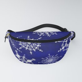 Snowflakes Floating through the Sky Fanny Pack