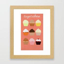 Baker's Joy Collection: Cupcakes Framed Art Print