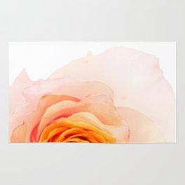 Light Orange Rose Rug