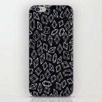 diamond iPhone & iPod Skins featuring -diamond- by ''CVogiatzi.