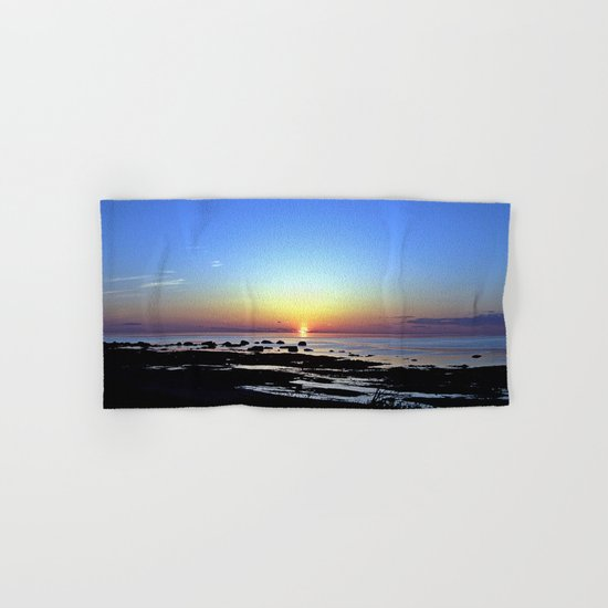 Wonderful Sunset Seascape Hand & Bath Towel