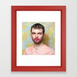 Proper Man Framed Art Print