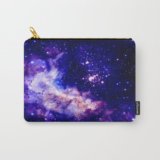 indigo galaxy : Celestial Fireworks Carry-All Pouch
