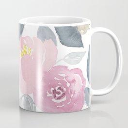 Flowers in Pink Coffee Mug