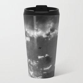 Plane and storm Metal Travel Mug
