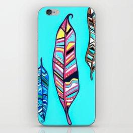 Three Feathers iPhone Skin