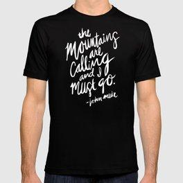 Mountains Calling – Kraft T-shirt