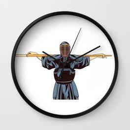 Ninja Sensei Wall Clock