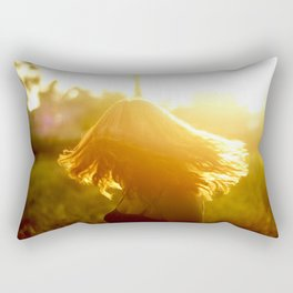 she's a dreamer Rectangular Pillow