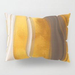 Amber Honey Tiger's Eye Pillow Sham