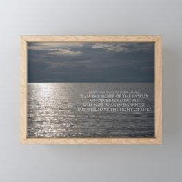 Light of the World Framed Mini Art Print