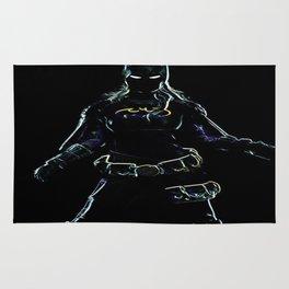 batgirl outline Rug