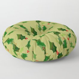 Have a Holly Jolly Floor Pillow