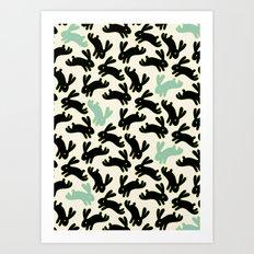 Bunny Honey Art Print