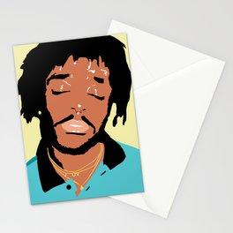 Lil Uzi Portrait (Yellow) Stationery Cards