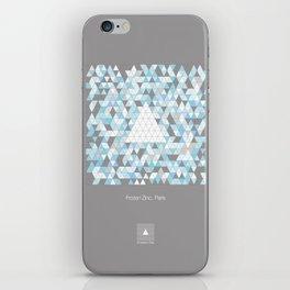 Frozen Zinc, Paris iPhone Skin