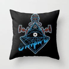 Imperial Punk Throw Pillow
