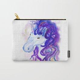 Fantasy unicorn portrait Carry-All Pouch