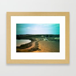 Journey landscape Framed Art Print