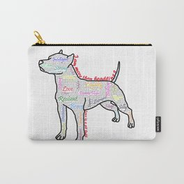 I am more (love is a pit bull No.4) Carry-All Pouch