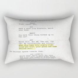 88 MPH Rectangular Pillow