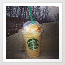 Starbucks- A Art Print
