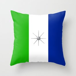 North Pearl Kingdom Throw Pillow