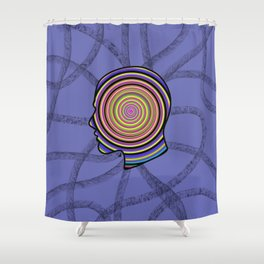 Headache Shower Curtain