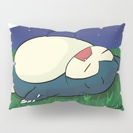 Snorlax Sleeping Pillow Sham