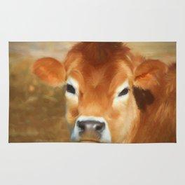 Adorable Cow Face Rug
