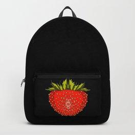 Strawberry, fruits, summer Backpack